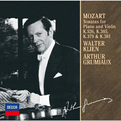 モーツァルト:ヴァイオリン・ソナタ第25番・第29番・第35番・第42番/CD/UCCD-9858