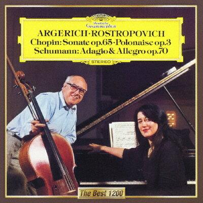 ショパン:チェロ・ソナタ、序奏と華麗なるポロネーズ/シューマン:アダージョとアレグロ/CD/UCCG-5279