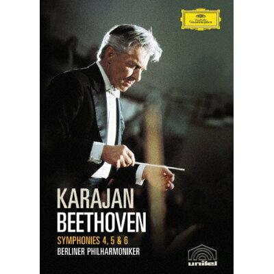ベートーヴェン:交響曲第4番・第5番≪運命≫・第6番≪田園≫/DVD/UCBG-9169