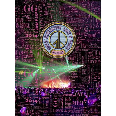 GIRLS' GENERATION ~LOVE&PEACE~ Japan 3rd Tour(初回限定盤)/DVD/UPBH-29046