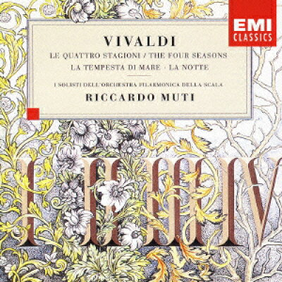 ヴィヴァルディ:《四季》、《海の嵐》、《夜》/CD/TOCE-14179