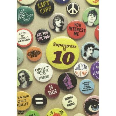 スーパーグラス・イズ 10:Best Of 94-04/DVD/TOBW-92082