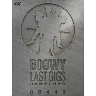 LAST GIGS COMPLETE 88445/DVD/TOBF-5580