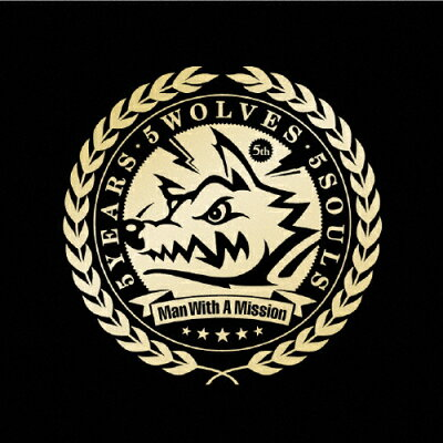 5YEARS 5WOLVES 5SOULS/CD/CRCP-40389
