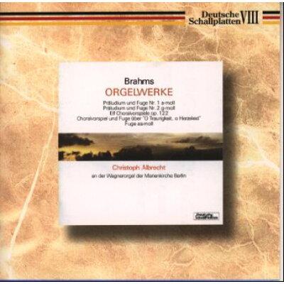 ブラームス:オルガン作品集/CD/TKCC-15158