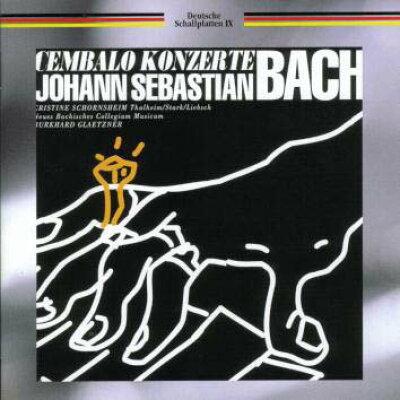 バッハ チェンバロ協奏曲集/CD/TKCC-15195