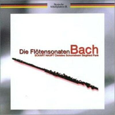 バッハ フルート・ソナタ全集/CD/TKCC-15197