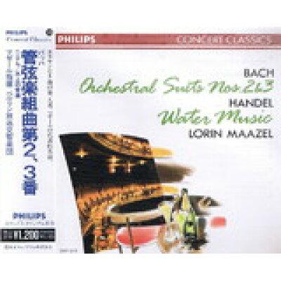 CD バッハ管弦楽組曲2 3