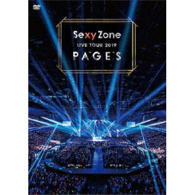 Sexy Zone LIVE TOUR 2019 PAGES(DVD)/DVD/PCBP-53282