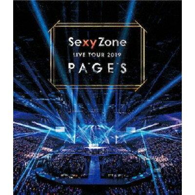 Sexy Zone LIVE TOUR 2019 PAGES(Blu-ray)/Blu-ray Disc/PCXP-50686
