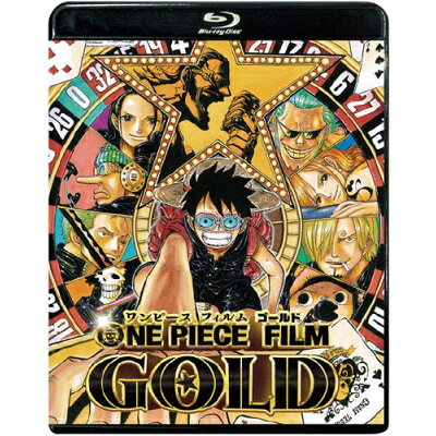 ONE PIECE FILM GOLD Blu-ray スタンダード・エディション/Blu-ray Disc/PCXP-50456