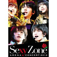 Sexy Zone アリーナコンサート2012(Blu-ray通常盤 初回限定 マリウス葉バック・ジャケット仕様)/Blu-ray Disc/PCXP-50115