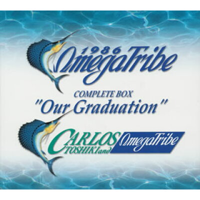 "1986 OMEGA TRIBE CARLOS TOSHIKI&OMEGA TRIBE COMPLETE BOX""Our Graduation""/CD/VPCC-80601"