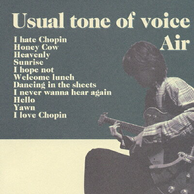 Usual tone of voice/CD/PSCR-5711