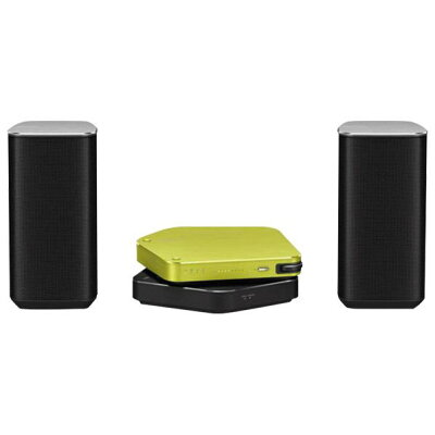 PIONEER USB DACアンプ、ワイヤレスユニット、ハイレゾスピーカー Stellanova グリーン&ブラック APS-S301JGRBK/XV15