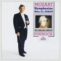 モーツァルト:交響曲第31番 パリ ,第35番 ハフナー ,第36番 リンツ /ピノック PROC-1765 ピノツク