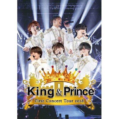 King & Prince First Concert Tour 2018/DVD/UPBJ-1001