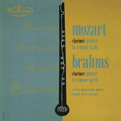 モーツァルト&ブラームス:クラリネット五重奏曲/CD/UCCW-9015