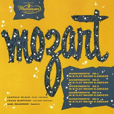 モーツァルト:5つのディヴェルティメント/CD/UCCW-9018