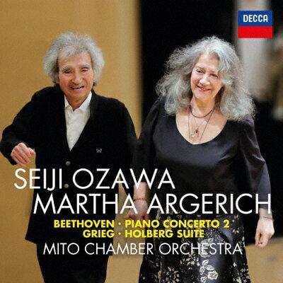 ベートーヴェン:ピアノ協奏曲第2番 他/CD/UCCD-40017