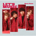 LET'S MUSIC(初回限定盤B)/CDシングル(12cm)/JMCT-19011