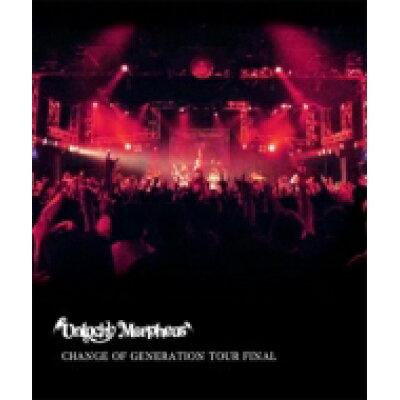 CHANGE OF GENERATION TOUR FINAL/Blu-ray Disc/ANKM-0032