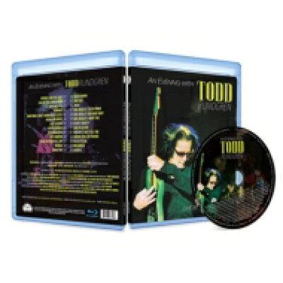 アン・イブニング・ウィズ・トッド・ラングレン~ライヴ・アット・ザ・リッジフィールド/Blu-ray Disc/ATOZ-104