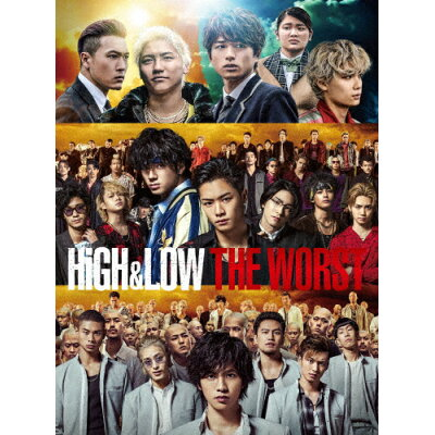 HiGH&LOW THE WORST/DVD/RZBD-77159