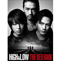 HiGH&LOW THE RED RAIN<豪華盤>/DVD/RZBD-86339