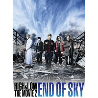 HiGH & LOW THE MOVIE 2/END OF SKY(初回豪華盤)/DVD/RZBD-86491