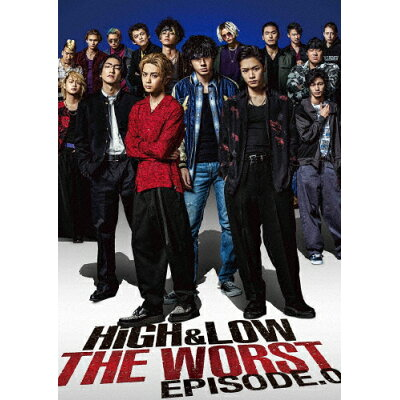 HiGH&LOW THE WORST EPISODE.0/DVD/RZBD-86922