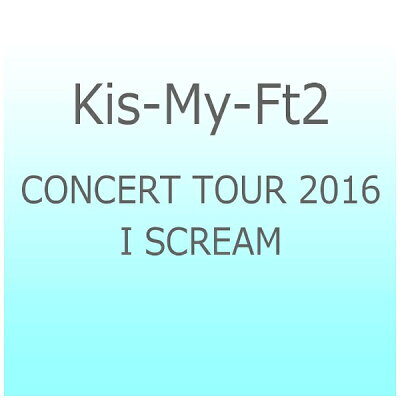 CONCERT TOUR 2016 I SCREAM/Blu-ray Disc/AVXD-92410