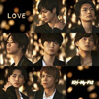 LOVE(初回盤B)/CDシングル(12cm)/AVCD-94132