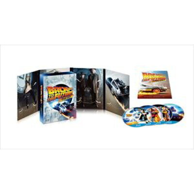 バック・トゥ・ザ・フューチャー トリロジー 30thアニバーサリー・デラックス・エディション ブルーレイBOX/Blu-ray Disc/GNXF-1930