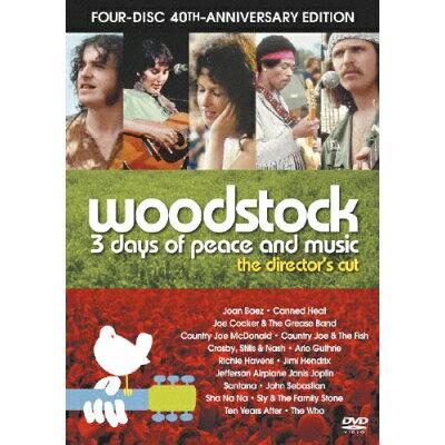 ディレクターズカット ウッドストック 愛と平和と音楽の3日間 40周年記念 アルティメット・コレクターズ・エディション/DVD/DLX-Y25765