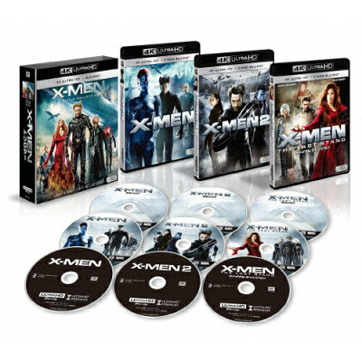 X-MEN 4K ULTRA HD トリロジーBOX/Blu-ray Disc/FXHA-33145