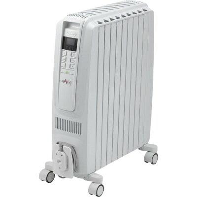 オイルヒーター ホワイト QSD0915-WH(1台)