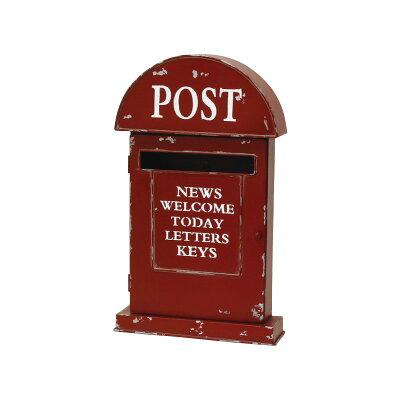 丸和貿易/ポストボックス レッド/400830302