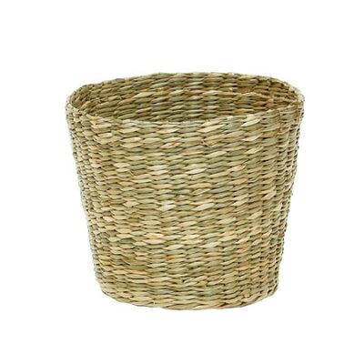 丸和貿易/ハノイバスケット ポットカバー L ナチュラル/400813701 インテリア雑貨 生活雑貨 バスケット