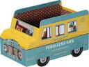トランスポルテ ペーパーボックス バス ブルー L