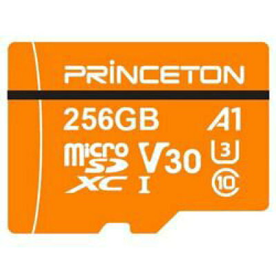 Princeton A1規格対応 microSDXC/SDHCカード PMSDA-256G