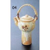 陶器・志野汁次 容量120ml 約H17 13.5 cm