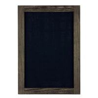 アージュ 新サインボード 黒 約47x67x1.8cm