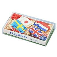 ヤマコー フラッグピック 万国旗 1 各国混合 QBV05