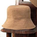 ヤマコー 柿渋染 帽子 チューリップ 83871
