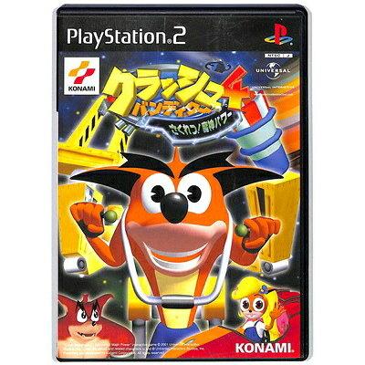 PS2 クラッシュバンディクー4さくれつ!魔人パワー PlayStation2