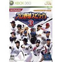 プロ野球スピリッツ3/XB360/VK004J1/A 全年齢対象