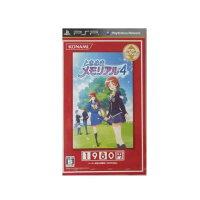 ときめきメモリアル4 ベストセレクション/PSP/VP059-J6/B 12才以上対象