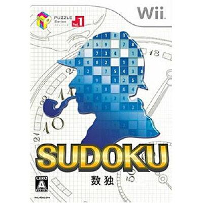 パズルシリーズ Vol.1 SUDOKU 数独/Wii/RVLPRD9J/A 全年齢対象