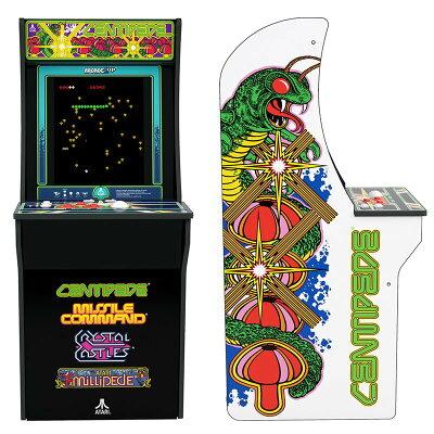 Arcade1Up センチピード ミリピード ミサイルコマンド クリスタルキャッスル  日本仕様電源版